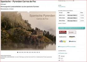 Werbung spanische Pyrenäen